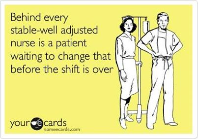 Humor: One quality all nurses have to share to be able to get through the day.
