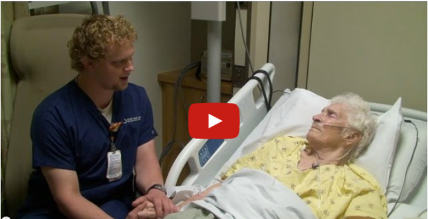 Upworthy video showcases one nurse's special talent.