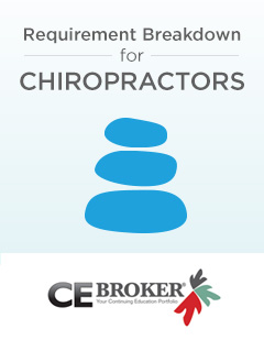 Chiropractor Requirements for License Renewal