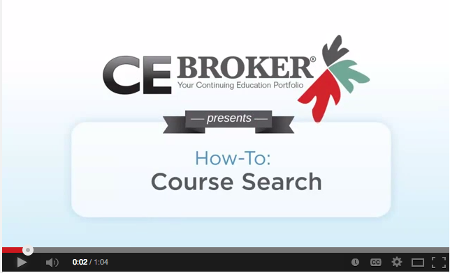 Watch our Course Search Video here to walk you through how to find the course you need