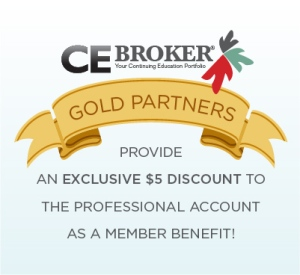 Join CE Broker in Helping Make Continuing Education Easier. Become a Gold Partner Today!