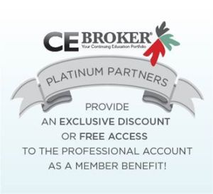 Join CE Broker in Helping Make Continuing Education Easier. Become a Platinum Partner Today!